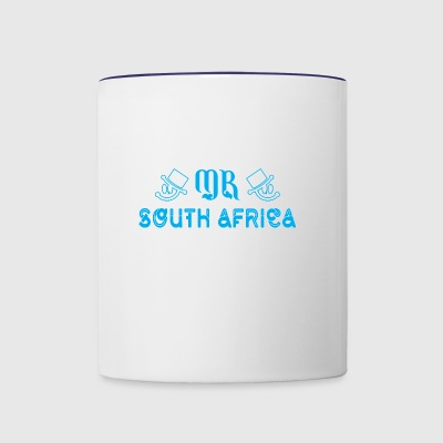 Mr South Africa - Contrast Coffee Mug
