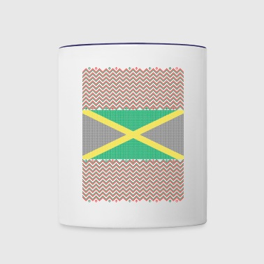 Jamaican Ugly Christmas Sweater - Contrast Coffee Mug