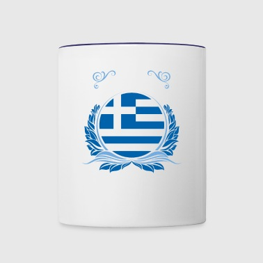 This Is Greece - Contrast Coffee Mug