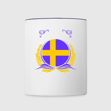 This Is Sweden - Contrast Coffee Mug