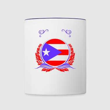 This Is Puerto Rico - Contrast Coffee Mug