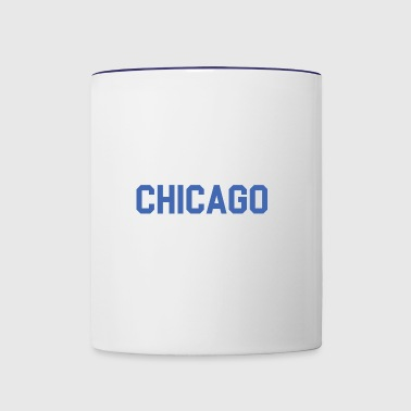 Chicago, Illinois - The Cubs - Contrast Coffee Mug