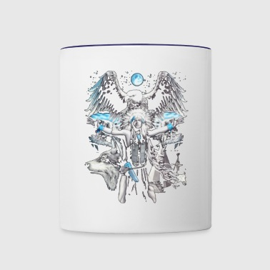 THE NATURE - Contrast Coffee Mug
