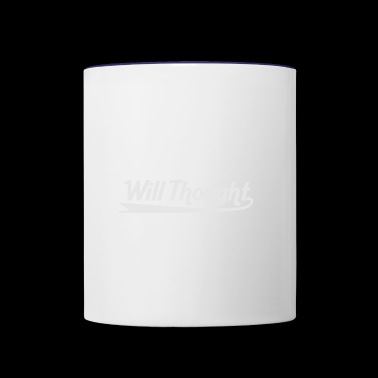 Will Thought - Contrast Coffee Mug
