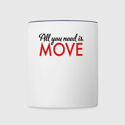 move - Contrast Coffee Mug