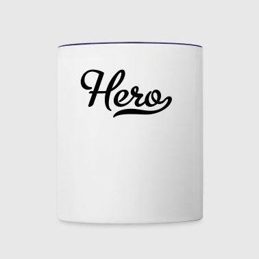 hero - Contrast Coffee Mug