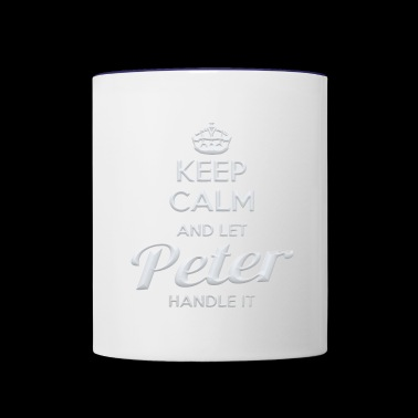 Peter Shirt - Contrast Coffee Mug