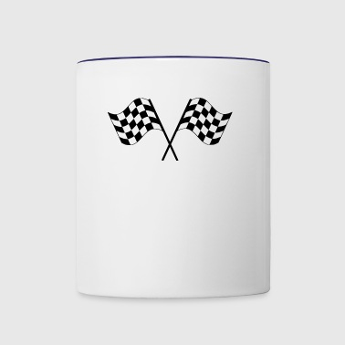 dragster racer automotive car automobil rennwagen1 - Contrast Coffee Mug