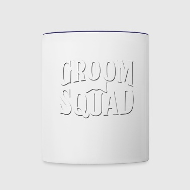 Groom Squad Wedding Party - Contrast Coffee Mug