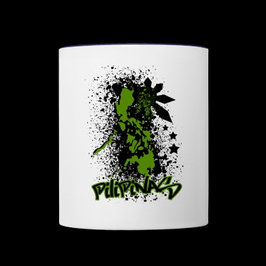 The Philippines Islands - Contrast Coffee Mug