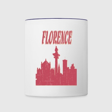 Florence City - Contrast Coffee Mug