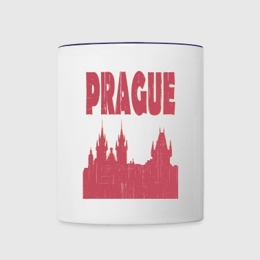 Prague City - Contrast Coffee Mug