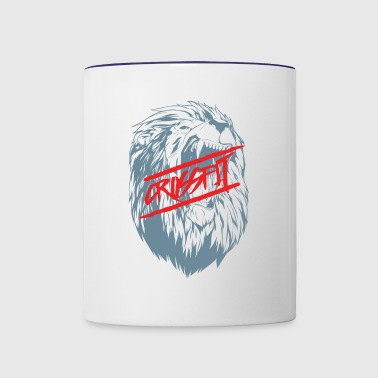 Crossfit Lion - Contrast Coffee Mug