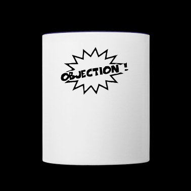 objection - Contrast Coffee Mug