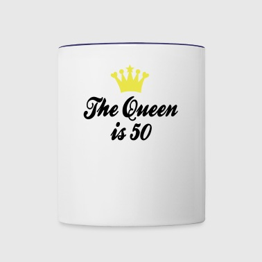 50th birthday - Contrast Coffee Mug