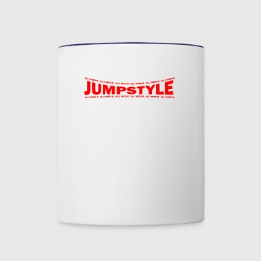 LOVE TECHNO GESCHENK goa pbm JUMPSTYLE speed - Contrast Coffee Mug