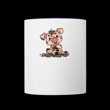 Dirty sow - Contrast Coffee Mug