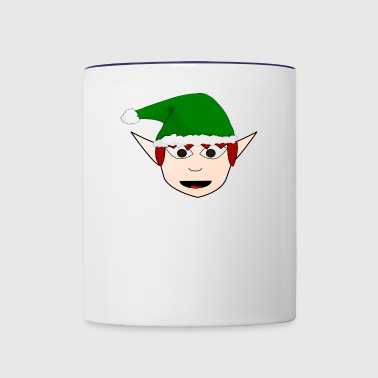 Elf - Contrast Coffee Mug