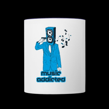 Addicted - Contrast Coffee Mug