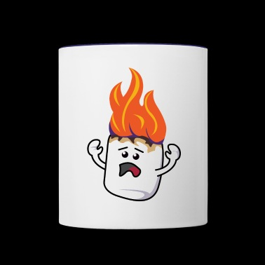 Poor Mallow - Contrast Coffee Mug
