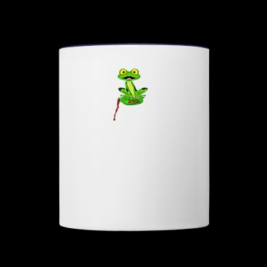 jeremiah the bullfrog - Contrast Coffee Mug