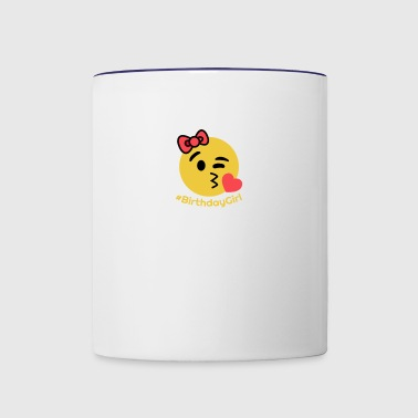 Birthday girl - Contrast Coffee Mug