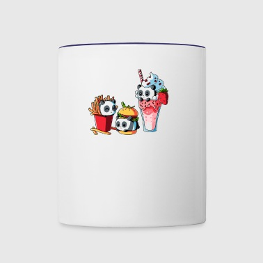 COMBO MEAL - Contrast Coffee Mug