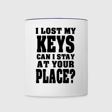 Lost My Keys. - Contrast Coffee Mug
