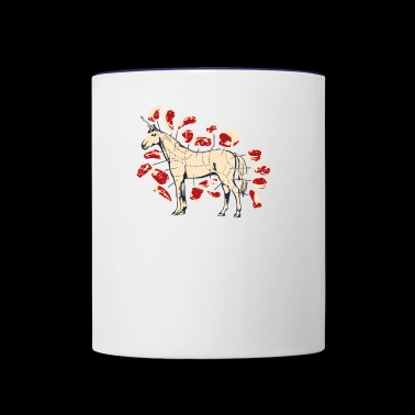 Unicorn Meat - Contrast Coffee Mug