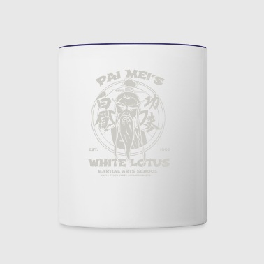 White Lotus - Contrast Coffee Mug