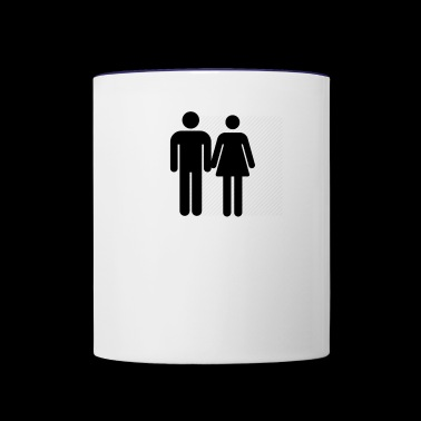 Love and Relationship - Contrast Coffee Mug