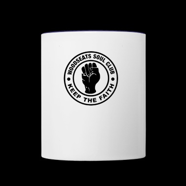 Northern Soul Keep The Faith TillieMCallaway - Contrast Coffee Mug