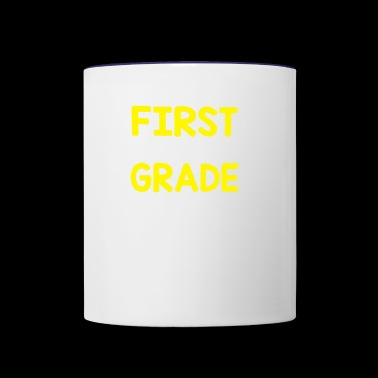 FIRST GRADE - Contrast Coffee Mug