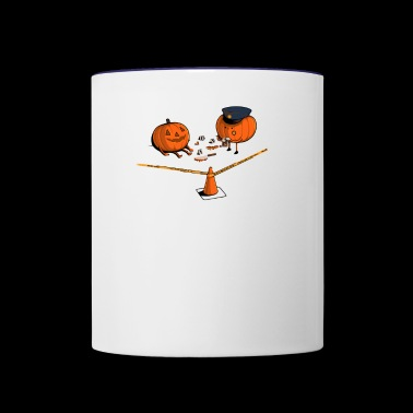 Crime Scene - Contrast Coffee Mug