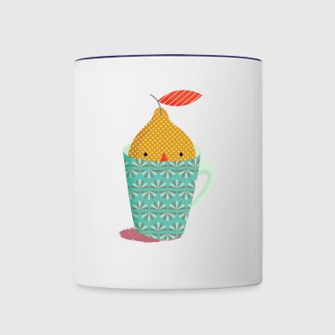 cup children - Contrast Coffee Mug