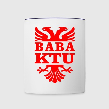 Dadyd is here - Albanian eagle - Contrast Coffee Mug