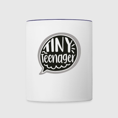 Tiny teenager - Contrast Coffee Mug