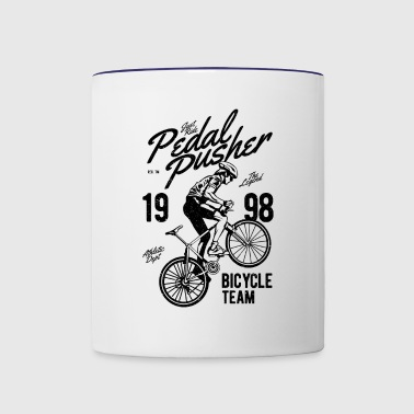 Pedal Pusher - Contrast Coffee Mug