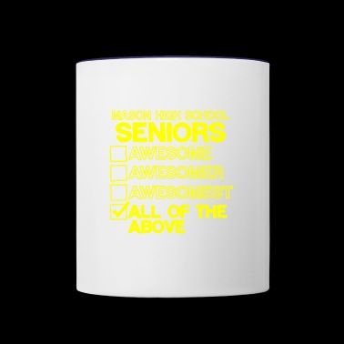 Mason High School Seniors - Contrast Coffee Mug