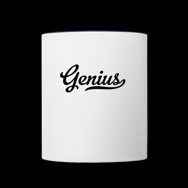 genius - Contrast Coffee Mug