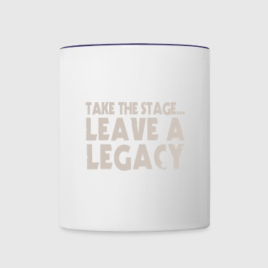 Take The Stage - Contrast Coffee Mug