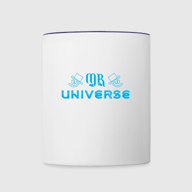 Mr Universe - Contrast Coffee Mug