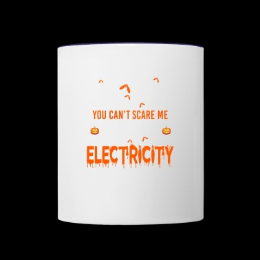 Electricity I Work With Electricity - Contrast Coffee Mug