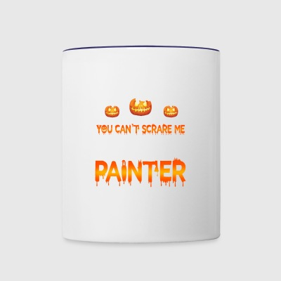 Painter Halloween - Contrast Coffee Mug