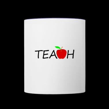 teach - Contrast Coffee Mug