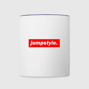 techno mischpult red bass bpm jumpstyle - Contrast Coffee Mug