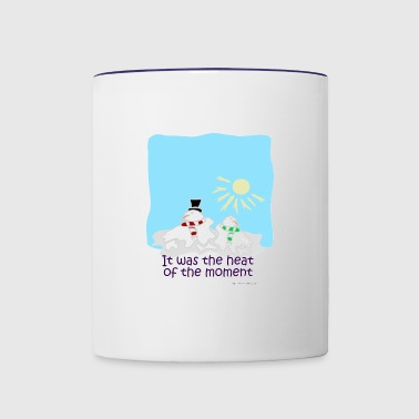 The Heat of the Moment - Contrast Coffee Mug