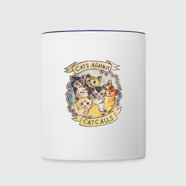 CATS AGAINST - Contrast Coffee Mug