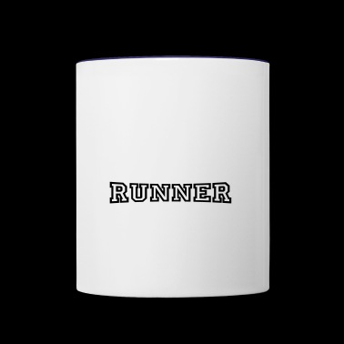 runner - Contrast Coffee Mug