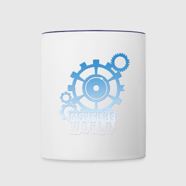 move the world - Contrast Coffee Mug
